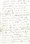 Fragment of Letter to Unknown Recipient by Charles Petit McIlvaine