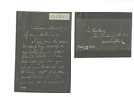 Letter to President Abraham Lincoln