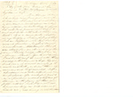 Letter from C.P McIlvaine to Mrs. McIlvaine by Charles Pettit McIlvaine