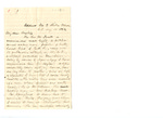 Letter from Bishop Bedell to C.P. McIlvaine