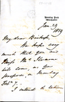 Letter to Charles Petit McIlvaine by William Heathcote