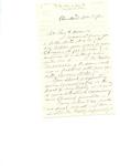 Letter to Charles Petit McIlvaine by William Allen Fiske
