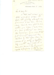 Letter to Clergyman of Illinois