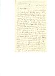 Letter to G.W. Du Bois by Charles Petit McIlvaine
