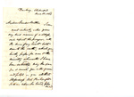 Letter to C.P. McIlvaine by J. C. Rochester