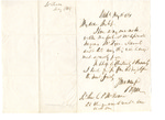 Letter to C.P. McIlvaine