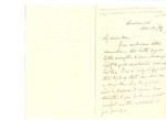 Letter to G. W. Du Bois