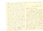 Letter to Maria Du Bois