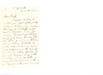 Letter to Bedell