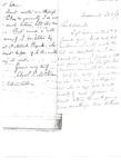 Letter to Reverend E. Allen