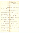 Letter to Charles Pettit McIlvaine