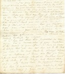 Letter to Dennison by Charles Petit McIlvaine