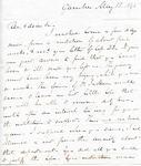 Letter to Fuller