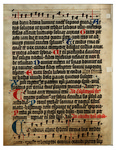 Psalter: Number 42 by St. Ambrose and Unknown