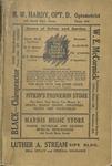 Walsh's 1922 - 1923 Mt. Vernon Fredericktown and Centerburg Directory