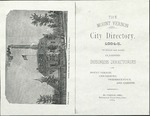 The Mount Vernon City Directory 1884-5 to Which are Added Classified Business Directories of Mount Vernon, Centerburg, Fredericktown, and Gambier