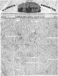 Gambier Observer, August 12, 1831