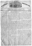 Gambier Observer, November 18, 1831