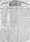 Gambier Observer, April 12, 1833
