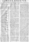 Gambier Observer, December 12, 1834