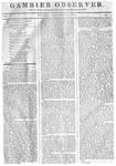 Gambier Observer, December 19, 1834
