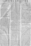 Gambier Observer, November 07, 1834