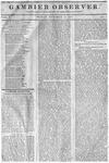 Gambier Observer, November 14, 1834