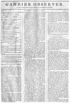 Gambier Observer, April 17, 1835