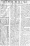 Gambier Observer, February 13, 1835