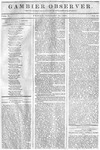 Gambier Observer, February 20, 1835