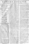Gambier Observer, February 09, 1835