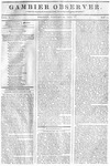 Gambier Observer, January 16, 1835