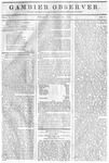 Gambier Observer, January 30, 1835