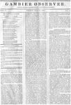 Gambier Observer, July 10, 1835