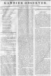 Gambier Observer, July 17, 1835