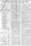 Gambier Observer, July 24, 1835