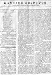 Gambier Observer, July 31, 1835