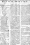 Gambier Observer, June 12, 1835