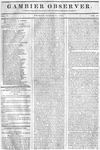Gambier Observer, March 27, 1835