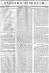 Gambier Observer, May 15, 1835