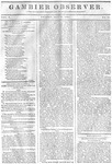 Gambier Observer, May 22, 1835