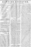 Gambier Observer, May 29, 1835