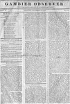 Gambier Observer, October 02, 1835