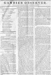 Gambier Observer, September 11, 1835