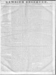 Gambier Observer, December 2, 1835