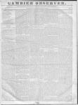 Gambier Observer, December 9, 1835