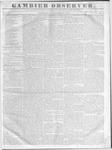 Gambier Observer, November 18, 1835