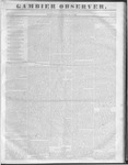 Gambier Observer, April 13, 1836