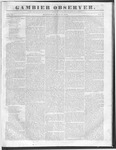 Gambier Observer, July 13, 1836