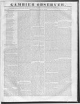 Gambier Observer, July 27, 1836